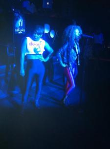 Deja Bryson Nas Life is good at the Roxbury, Los Angeles, CA