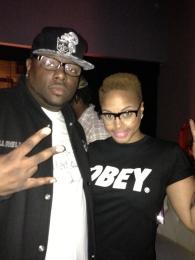 Deja Bryson's DJ DJ Hell Rell & Chrisette Michelle