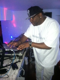 DJ Hell Rell at Chrisette Michelle Party