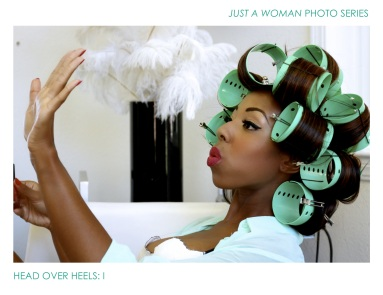 Just A Woman Photo Series: Head over heels 1.