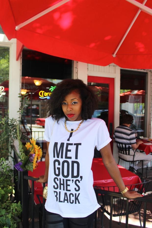 I met God.
