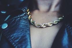 Gold Rope & Moto Jacket